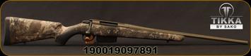 "Tikka - 270Win - T3x Super Lite True Timber Cerakote - Bolt Action Rifle - True Timber Strata Synthetic Stock/OD Green Cerkote, 22.4""Fluted, Threaded Barrel, 5rd capacity, Mfg# T00000488"