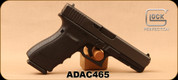 "Used - Glock - 45ACP - G21 Gen4 - Semi-Auto Pistol - DA - Black Finish w/Customizable Modular Backstrap, 4.61""Barrel, (3)10rd magazines - Only 10 rounds fired - In original case"