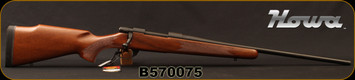 "Howa - 6.5Creedmoor - M1500 Hunter American - Bolt Action Rifle - Italian Walnut Stock/Matte Blued, 22""Barrel, 1:9""Twist, 4+1 rounds, Mfg# HHR52501, S/N B570075"