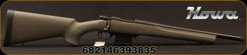 "Howa - 300Blk - 300 AAC Blackout - 1500 Mini Action Rifle - OD Green HTI synthetic, pillar-bedded stock/Matte Blued, 16.25""Threaded(5/8x24) Heavy Barrel, 1:7""Twist, Mfg# HMA70363"
