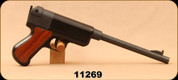 "Consign - FLLI Serena Brescia Italy - .410 - Single Shot Pistol - Wood Grip Inserts/Blued, 16""Barrel, soft case"