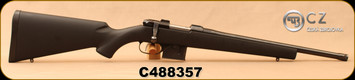"Consign - CZ - 7.62x39 - Model 527 American - Black Polymer, American-Style Stock/Blued, 16.5""Threaded Barrel, 1:9.5""Twist, Detachable 5rd Magazine, Integral 16mm Scope Base - only 100 rounds fired"