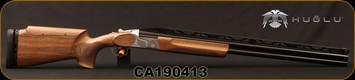 "Huglu - 12Ga/3""/30"" - TRP DLX - O/U - Turkish Walnut Monte Carlo Stock w/Adjustable Comb/Chrome-Lined Barrels, 12mm Adjustable Rib, Ejectors, Single Selective Adjustable Trigger, 5pc. Mobile Choke, SKU: 8681715397016, S/N CA190413"