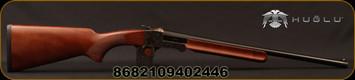 "Huglu - 28Ga/3""/20"" - 301A Mini - Single Shot - Turkish Walnut/Case Hardened Receiver/Blued Barrel, 5pc Mobile Chokes"