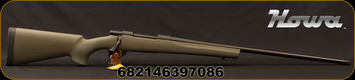 "Howa - 7mmRemMag - Hogue Lightweight - Bolt Action Rifle - OD Green Synthetic/Blued, 26""Threaded Barrel, Radial Muzzle Brake, 1:9.5""Twist, Mfg# HGR75893MB"