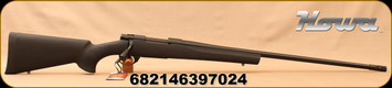 "Howa - 6.5Creedmoor - Hogue Lightweight - Bolt Action Rifle - Black Synthetic/Blued, 26""Threaded Barrel, Radial Muzzle Brake, 1:8""Twist, Mfg# HGR72592MB"