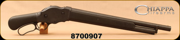 """Consign - Chiappa - 12Ga/2.75""""/18.5"""" - 1887 Lever Action T-Model Shotgun - Lever Action - Rubber Coated Walnut Pistol Grip/Matte Blued, 5 round Magazine Tube, Mfg# 930.015, low rounds fired"""