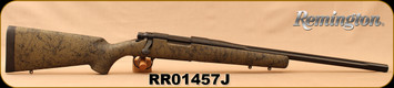 "Used - Remington - 308Win - Model 700 XCR Tactical - OD Green w/Black Web Synthetic Stock/Blued, 20""Fluted Barrel, only 30 rounds fired"