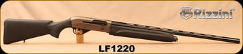 "Used - Rizzini - 12Ga/3""/28"" - Armi Leonessa - Gas Powered Semi-Auto - Black Synthetic/Grey Receiver/Blued Barrel, 5 Flush-Mounted Chokes, 1 with External Rim serving as 5cm Extension - In original case"