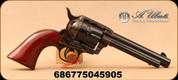 "Uberti - 22LR - 1873 Cattleman 12-Shot - Single Action Revolver - Walnut Grips/Case Hardened Frame/Blued, 5.5""Barrel, 12 rounds, Mfg# 4052"