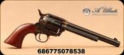 "Uberti - 22LR - 1873 Cattleman 12-Shot - Single Action Revolver - Walnut Grips/Case Hardened Frame/Blued, 7.5""Barrel, 12 rounds, Mfg# 4053"