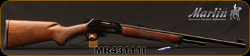 "Marlin - 444Marlin - Model 1895 444 - Lever Action - American black walnut stock with pistol grip/Polished Blued, 22""Barrel, Ballard Rifling, Mfg# 70540, S/N MR43111I"