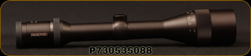 Consign - Swarovski - Habicht - 4-16x50mm - Matte Black, Duplex Reticle - 30mm Tube