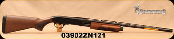 "Browning - 20Ga/3""/26"" - BPS Field - Pump Action Shotgun - Satin Walnut Stock/Matte Blued Finish, 4 Rounds(2 3/4""), Mfg# 012286605, S/N 03902ZN121"