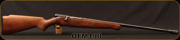 "Consign - O.F Mossberg and Sons - 16Ga/2.75""/26"" - Model 190 - Bolt Action Shotgun - Walnut Stock/Blued Barrel, detachable magazine"