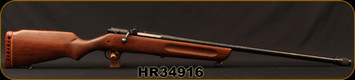 "Consign - H&R - 16Ga/2.75""/26"" - Model 349 Gamester - Bolt Action Shotgun - Walnut Stock/Blued, sling swivels"