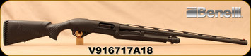 "Consign - Benelli - 12Ga/3.5""/28"" - SuperNova - Black Synthetic/Blued, Vent Rib, ComforTech recoil reduction system, c/w Extra chokes, M, F, IC - Only 5 rounds fired"