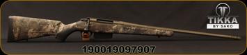 "Tikka - 30-06Sprg - T3x Super Lite Cerastrat - Bolt Action Rifle - True Timber Strata Synthetic Stock/OD Green Cerkote, 22.4""Fluted, Threaded Barrel, 5rd capacity, Mfg# T00000490"