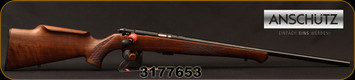 "Anschutz - 22LR - 1712 Silhouette Sporter - Walnut Monte Carlo Stock/Blued, 22""Barrel, two-stage trigger, Mfg# 007594, S/N 3177653"