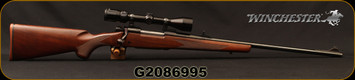 "Used - Winchester - 270Win - Model 70 XTR Sporter - Grade I Walnut/Satin Blued, 24""Barrel, Push Feed, Detachable Magazine, c/w Bushnell 3-9x32mm, Duplex Reticle"