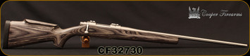 "Consign - Cooper - 22-250Rem - Model 54 Jackson Game - Grey Laminate Stock/Stainless, 24""Barrel - In original box with papers - Only 40 rounds fired"