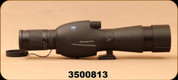 Consign - Zeiss - Victory DiaScope FL 65mm - Spotting Scope - Straight View Vario D 15-56x/20-75x Eyepiece