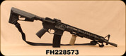 "Consign - DPMS - 223Rem/5.56NATO - Panther TAC 2 A-15 - Gas System Restricted Semi Auto Rifle - Black Magpul ACS Stock/16""Chrome-Lined Barrel, Magpul MBUS Flip Up Rear Sight - c/w Synthetic Sling, 2 Mags - Only 13rds Fired - In Black Hard Case"