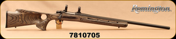 "Consign - Remington - 204Ruger - Model XR-100 - Grey Laminate Thumbhole Stock/Blued, 26""Barrel, c/w 30mm rings - Very low rounds fired"