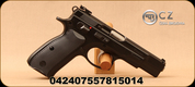 "CZ - 9mm - Model 85 Combat - Semi-Auto Pistol - Black Polycoat - 4.4"" Barrel, (2)10 Round Magazines, Ambidextrous, Adjustable Sights, Mfg# 0424-0755-7815014"