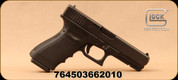 "Glock - 10mm - G20SF - Semi-Auto Pistol - Black Polymer/matte finish, 4.6""Barrel, (2)10 Round Magazines, Glock OEM Rail, Fixed Glock Sights, Mfg# PF2050201"