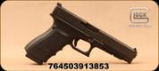"Glock - 45 ACP - G41 Gen4 MOS - Semi-Auto Pistol - Black Polymer w/Interchangeable Backstrap/Matte Finish, 5.31""Barrel, Mfg# UG4130101MOS"