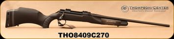 "Thompson Center - 204Ruger/270Win - Dimension 2-Barrel Set - Black Composite Stock/Blued, 22""barrel, Interchangeable Dimension LOC Barrel 24"" (270 Win) - (2)3 Round Detachable Magazine"