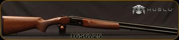 "Huglu - 12Ga/3""/28"" - S12E - Full Size Over/Under - Turkish Walnut Stock/Black Receiver/Chrome-Lined Barrels, Ejectors, SKU# 8681715390857, 5pc Mobile Choke, S/N 16S6725"