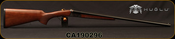 "Huglu - 28Ga/2.75""/26"" - Model 200A Mini - SxS Single Trigger - Turkish Walnut/Case Hardened Receiver/Blued, SKU# 8681744307277, S/N CA190296"