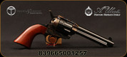 """Taylor's & Co - Uberti - 44SP - 1873 Cattleman - Single-Action Revolver - Smooth Walnut Grips/Case Hardened Frame/Blued, 5.5""""Barrel, Fixed Front Blade, Rear Frame Notch sights, Mfg# 701C"""