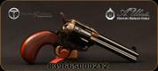 "Taylor's & Co - Uberti - 45LC - 1873 Birdshead Cattleman - Single-Action Revolver - Checkered Walnut Grips/Case Hardened Frame/Blued finish, 4.75""Barrel, Fixed Front Blade, Rear Frame Notch sights, Mfg# 555152"