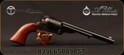 "Taylor's & Co - Uberti - 38SP - 1851 Open Top Navy - Revolver - Walnut Grip/Case Hardened Frame/brass backstrap& triggerguard/Blued finish, 7.5""Barrel, Mfg# 0914"