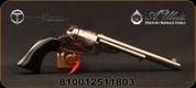 "Taylor's & Co - Uberti - 38SP - 1871-72 The Cavalier Open Top - Revolver - Black Polymer Navy-Size Grips/Nickel finish, 7.5""Barrel, Mfg# 0914N00G09"