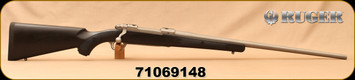 """Consign - Ruger - 264WM - M77 Hawkeye Stainless - Black Synthetic/Stainless, 24""""Barrel, only 100 rounds fired"""