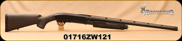 "Consign - Browning - 12Ga/3.5""/26"" - BPS Stalker - Black Synthetic/Blued, Invector Plus Choke System (c/w Full), Bottom Load/Eject, Only 25 rounds fired"