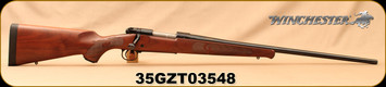 """Consign - Winchester - 300WSM - Model 70 Featherweight - Bolt Action Rifle - Walnut Stock/Blued, 24"""" Barrel 3 Rounds, Mfg# 535200255 - Only 20 rounds fired - In original box"""