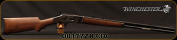 """Winchester - 44-40Win - 1873 Sporter CH - Grade III Walnut Pistol Grip Stock/Case Hardened Receiver/Blued, 24"""" Octagon barrel, Mfg# 534228140, S/N 00177ZR73V"""