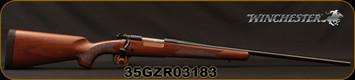 "Winchester - 300WSM - Model 70 Sporter - Bolt Action Rifle - Walnut Stock/Blued, 24"" Barrel, 3 Rounds, Mfg# 535202255, S/N 35GZR03183"