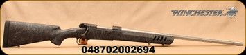 """Winchester - 243Win - Model 70 Coyote Light - Bolt Action Rifle -  Black w/Grey Web Vented Bell and Carlson Stock/Stainless, 24""""Fluted Barrel, 5 Round Capacity, Mfg# 535207212"""