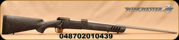 """Winchester - 243Win - Model 70 Coyote Light - Bolt Action Rifle -  Black w/Grey Web Vented Bell and Carlson Stock/Stainless, Fluted, 24""""Threaded Barrel, 5 Round Capacity, Mfg# 535232212"""