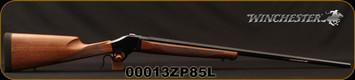 "Winchester - 22-250Rem - 1885 High Wall Hunter -  Falling Block Single Shot Rifle - Walnut Stock/Polished Blued Finish, 28""Octagon Barrel, Mfg# 534112210, S/N 00013ZP85L"