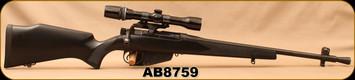 "Consign - Lee Enfield - 303British - No.5 Mk2 (F) - Jungle Carbine - Black Composite Stock/Blued, 20.75""Barrel, Bushnell Scope Chief, 2.5-8x32, Duplex reticle"