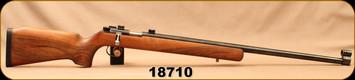 "Consign - Schultz & Larsen Otterup - 22LR - M70 - Walnut Stock/Blued, 27""Heavy Barrel"