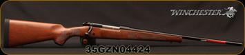 "Winchester - 270Win - Model 70 Featherweight - Satin Finish Walnut Stock w/Featherweight Checkering/Blued, 22""Barrel, 5rd Capacity, Mfg# 535200226, S/N 35GZN04424"