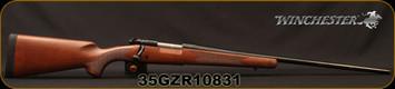 "Winchester - 270WSM - Model 70 Sporter - Bolt Action Rifle - Walnut Stock/Blued, 24"" Barrel, 3 Round Capacity, Mfg# 535202264, S/N 35GZR10831"